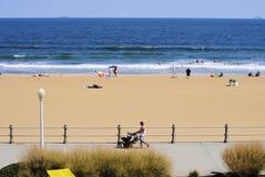 海滩前 免版税库存图片