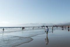 海滩加利福尼亚威尼斯 免版税库存图片