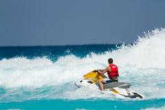 海滩加勒比海 免版税图库摄影