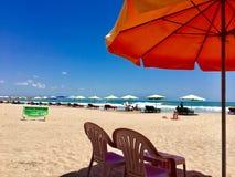 海滩巴厘岛 免版税库存图片