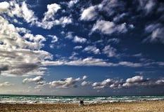 海滩古巴巴拉德罗角 免版税图库摄影