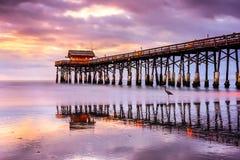 海滩可可粉佛罗里达 免版税库存图片