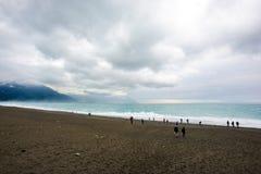 海滩台湾 库存图片