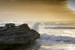 海洋和我自己 免版税库存图片