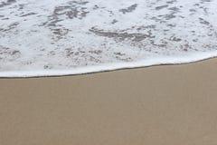 海洋和沙子 库存照片