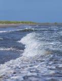 海洋和沙子beach.GN 免版税库存图片