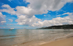 海滩和海岛 免版税库存图片