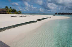 海滩和海运 免版税库存照片