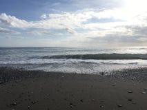 海滩和海洋 库存图片