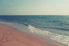 海滩和热带海在泰国 库存图片