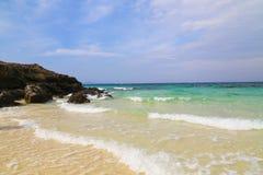 海洋和风 免版税库存图片