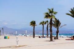 海滩圣胡安 库存图片