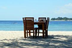海滩在印度尼西亚 免版税图库摄影