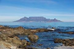 海滩在开普敦,南非 库存照片