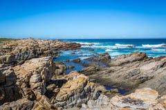 海滩在开普敦,南非 免版税图库摄影