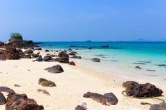 海滩在普吉岛 库存图片