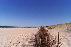 海滩在波兰 免版税图库摄影