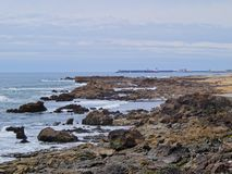 海滩在波尔图 免版税图库摄影