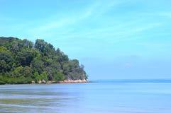 海滩在波德申马来西亚 库存照片
