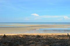 海滩在波德申马来西亚 库存图片