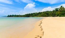 海滩在泰国 图库摄影