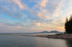 海滩在泰国 免版税图库摄影