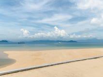 海滩在泰国 免版税库存照片