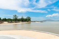 海滩在泰国 库存图片