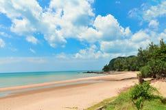 海滩在泰国 免版税库存图片