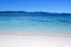 海滩在澳洲 免版税库存图片