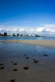海滩在珀斯 免版税库存照片