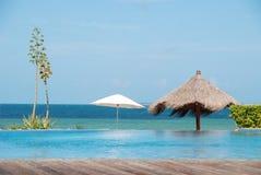 海滩在莫桑比克, vilanculos 免版税库存照片