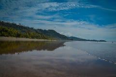 海滩在菲律宾 库存图片
