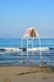 海滩在阿拉尼亚 图库摄影