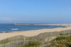 海滩在阿骨打 免版税库存图片