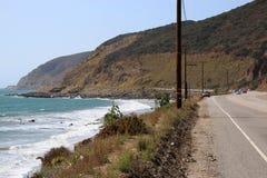 海滩在马利布 免版税库存照片