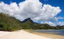 海滩在Constance Ephelia旅馆 图库摄影