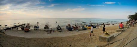 海滩在Jaroslawiec 库存照片