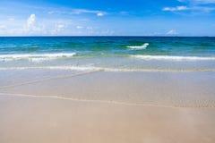 海滩在Ko Samet 免版税库存照片