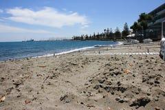 海滩在Kos海岛 免版税图库摄影