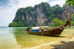 海滩在Krabi  库存图片