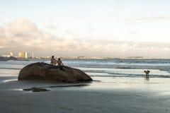 海滩在PeruÃbe 库存照片