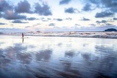 海滩在PeruÃbe 免版税图库摄影