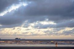 海滩在PeruÃbe 免版税库存图片