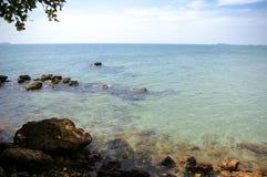 海滩在Rayong,泰国 库存照片