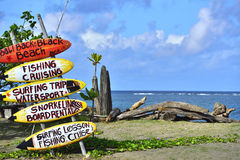 海滨在Seminyak,巴厘岛 免版税库存图片