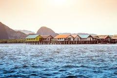 海洋地标的普吉岛泰国城市 免版税库存图片