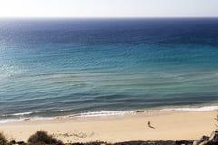 海滩费埃特文图拉岛 库存图片