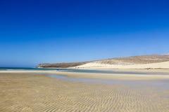 海滩费埃特文图拉岛 免版税库存照片