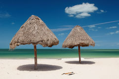 海滩墨西哥 免版税库存照片